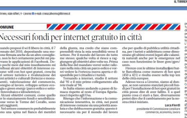 Wifi Libero a Livorno
